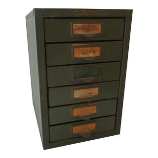 Industrial Metal Tool Chest Kennedy Vintage Drawers Cabinet