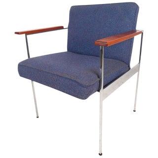Milo Baughman Style Mid-Century Modern Armchair