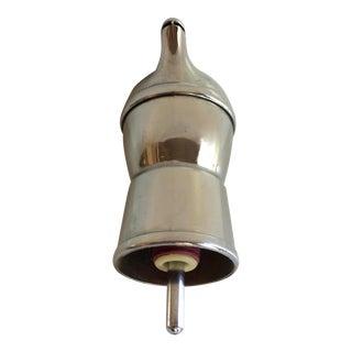 Vintage Retro Chrome Plated Brass Pour Spout