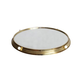 Lazy Susan Mirrored Bar Tray