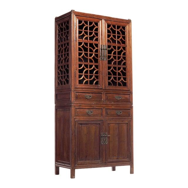 Chinese Kitchen Cabinets: Antique Chinese Fretwork Kitchen Cabinet