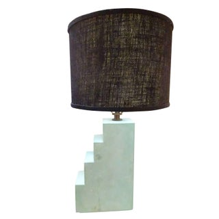 Donghia Cast Stone Architectural Table Lamp
