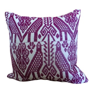 Mexican Hand Embroidered Custom Pillow