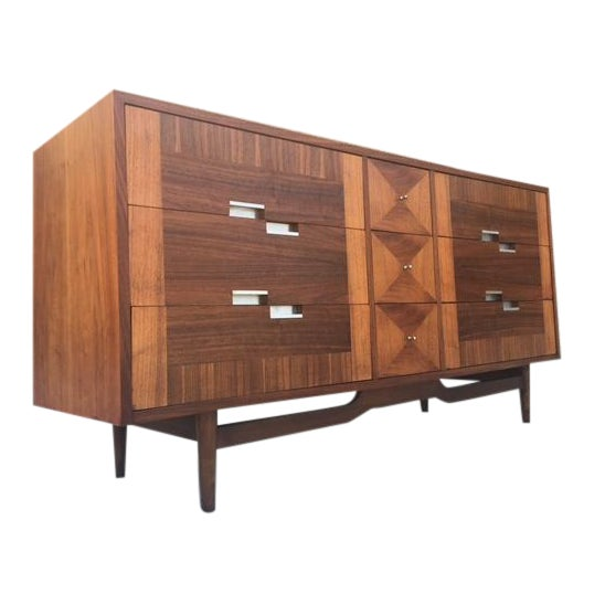 Mid Century Dresser by American of Martinsville - Image 1 of 5