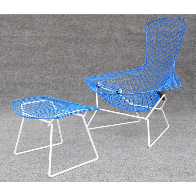 """Mid-Century Modern """"Bird"""" Chair & Ottoman - Image 6 of 10"""