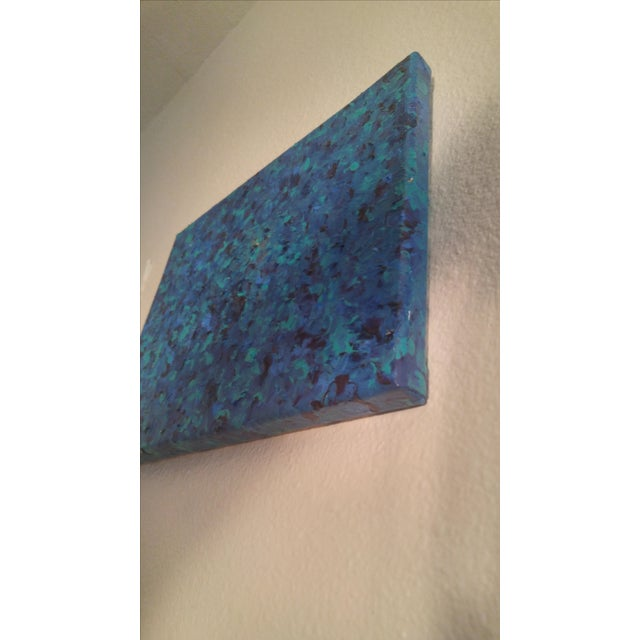'Sea of Blue' Contemporary Painting - Image 5 of 5