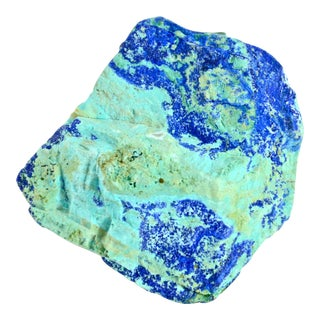 Natural Aqua-Blue Azurite Gemstone