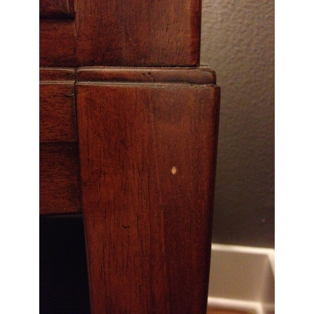 Bob Mackie Signature Bowed Rosewood Nightstand - Image 7 of 9
