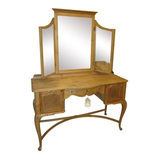 French Scandinavian Antique Vanity