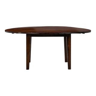 19th Century Round Chestnut Farm Table