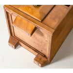 Image of Maple Wood Nightstands - a Pair