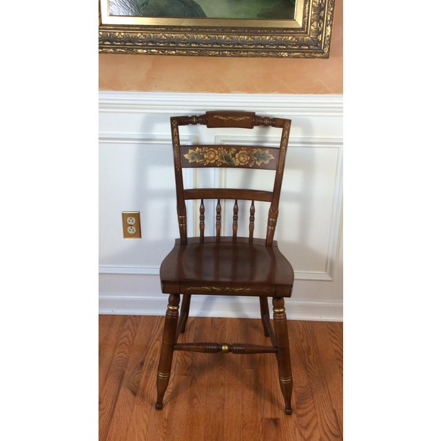 Vintage Hitchcock Inn Chair - Image 8 of 8