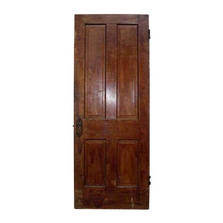 Antique Salvaged 4 Panel Wooden Door