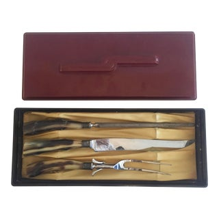 Remington Art Deco Carving Set - Set of 3