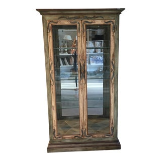 Lexington Painted Display Cabinet