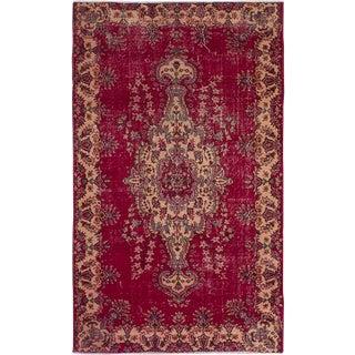 """Anatolian Handmade Vintage Turkish Rug - 5'1"""" x 8'6"""""""