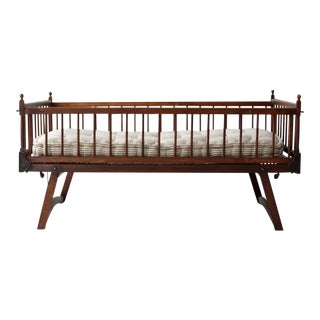 Victorian Wooden Toddler's Bed