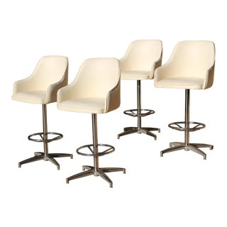 Mid-Century Viko Baumritter Bar Stools - Set of 4