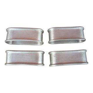 Pewter Napkin Rings - Set of 4