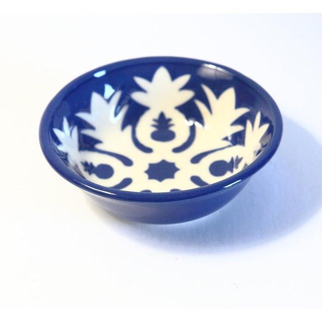 Handmade Ceramic Pineapple Motif Bowl - Image 3 of 5
