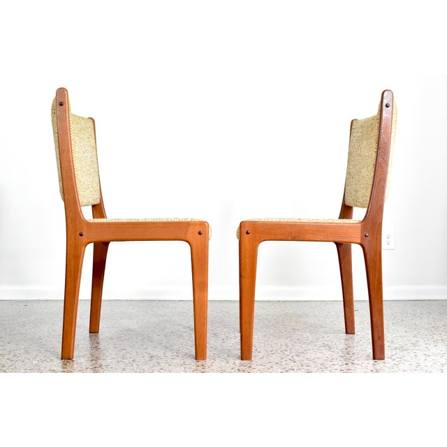 Danish modern vintage dining chairs set of 6 chairish for Modern dining chairs ireland
