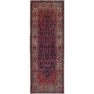 "Malayer Vintage Persian Rug, 3'5"" x 9'7"""