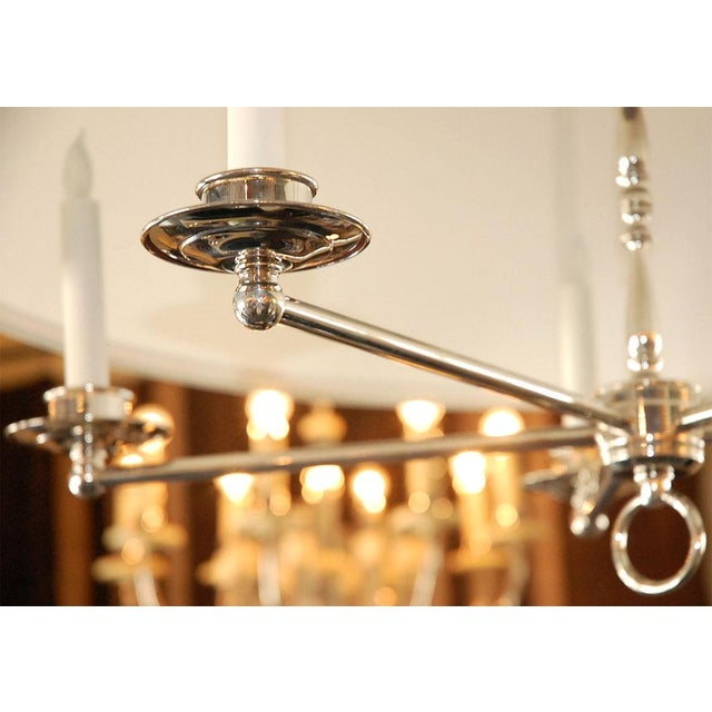 Paul Marra Design Five Arm Shaded Chandelier - Image 9 of 9