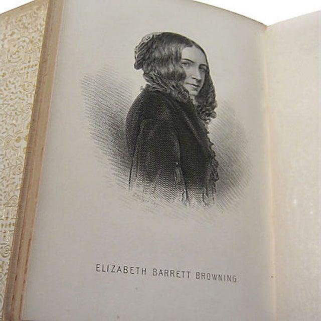 Elizabeth Barrett Browning Poetry - 5 Volumes - Image 5 of 7