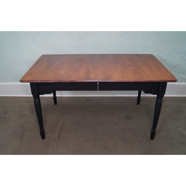 nichols stone solid maple dining table chairish