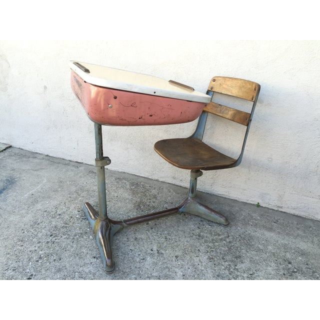 Image of Antique Desk for School Students