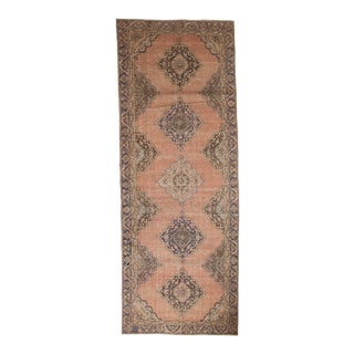 "Vintage Distressed Sparta Rug Runner - 4'4"" x 11'9"""