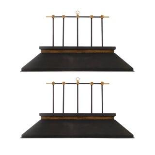 Pair of Billiard Lamps in the Manner of Gip Ponti