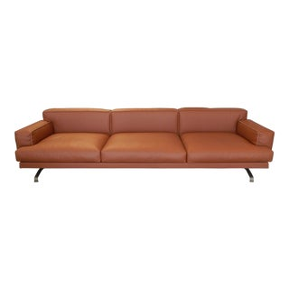 Gordon Guillaumier Lema 'Mustique' Leather Sofa