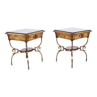 Pair of Side Tables Attributed to Arturo Pani