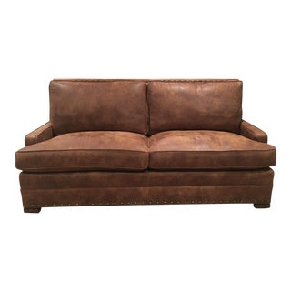 Vanguard Riverside Leather Sofa