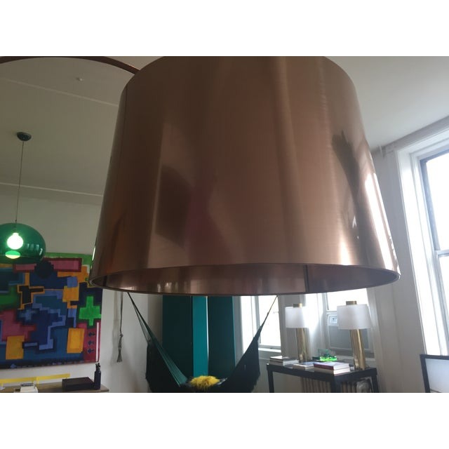 BoConcept Kuta Floor Lamp in Brushed Copper - Image 3 of 5