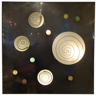 Lit Wall Piece by Angelo Brotto, Italy circa 1970