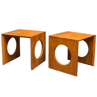 Jens Quistgaard Side Tables - A Pair