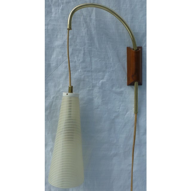 Mid-Century Counterweight Wall Sconces - A Pair - Image 7 of 11