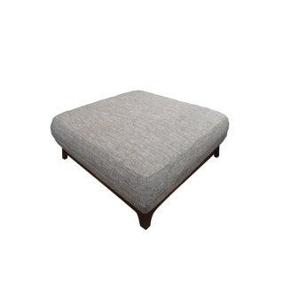 Volcanic Gray Walnut Legs Ottoman