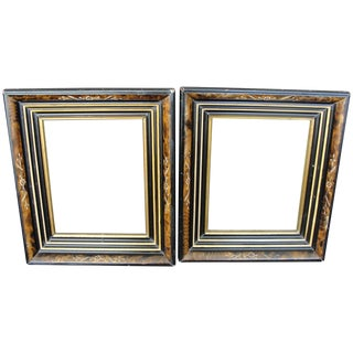 Aesthetic Eastlake Shadowbox Frames - A Pair
