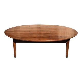 Unusual Antique Italian Country Cherry Coffee Table