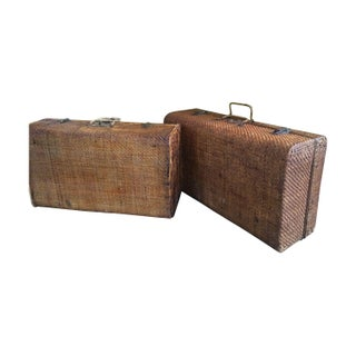 Antique Chinese Suitcase