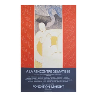 Original 1969 Henri Matisse French Exhibition Poster