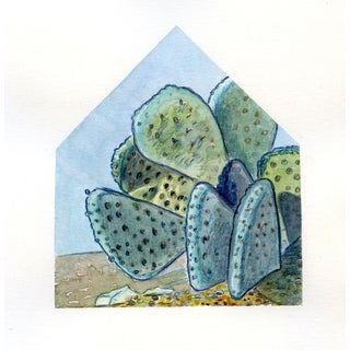 Desert Homescape No.3 Original Watercolor