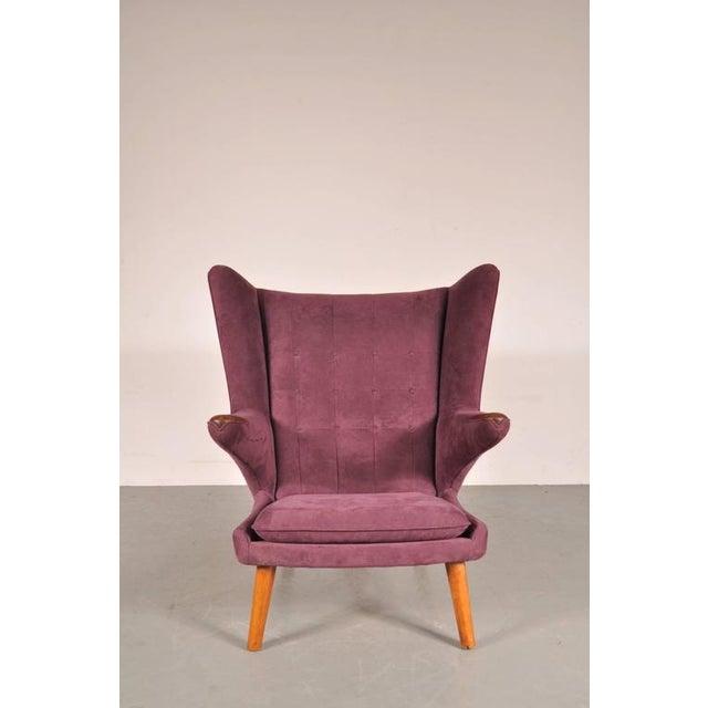 """""""Papa Bear"""" Chair by Hans J. Wegner for A.P. Stolen, Denmark, circa 1950 - Image 3 of 8"""