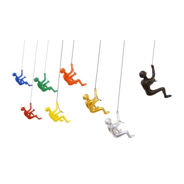 Image of The Collection, Climbing Man Wall Art Home Decor