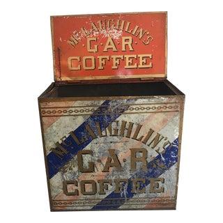 Old McLaughlin's Coffee Tin