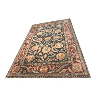Hand Knotted Indo-Agra Oriental Rug - 10' X 14'-4""
