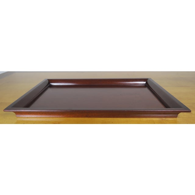 English Mahogany Tray - Image 7 of 7